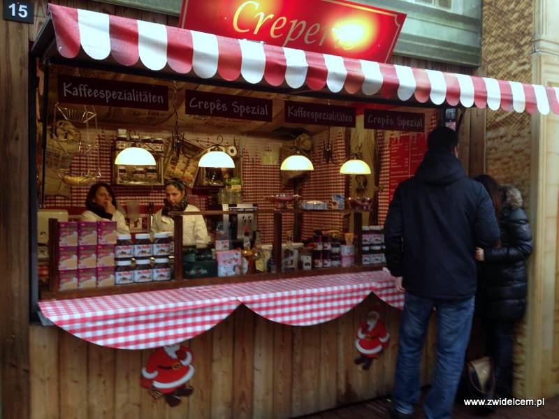 Berlin – Weihnachtsmarkt am Alezanderplatz - naleśniki
