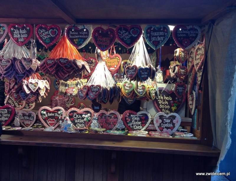 Berlin – Weihnachtsmarkt w Charlottenburg - pierniki