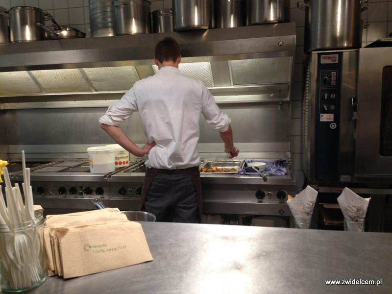 Berlin – Markthalle Neun – Street Food Thursdsay – stoisko fish'n'chips