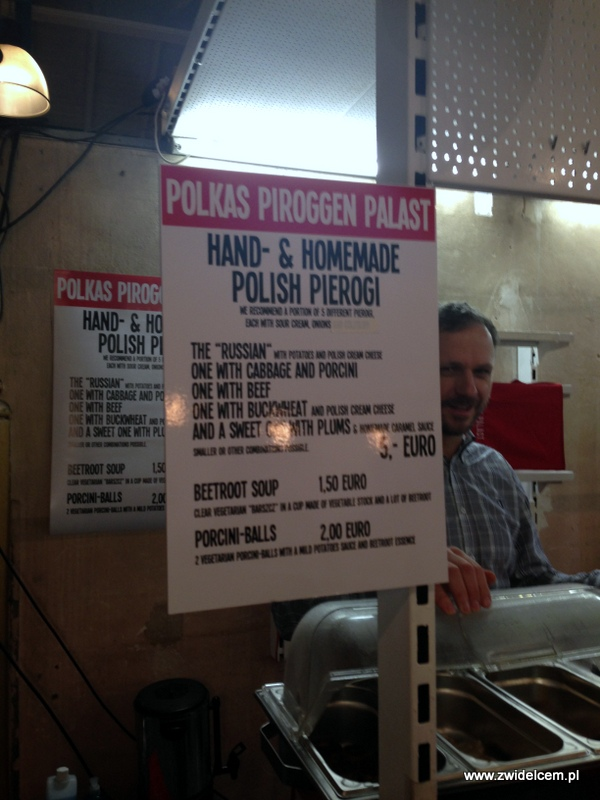 Berlin – Markthalle Neun – Street Food Thursdsay – Polskie pierogi