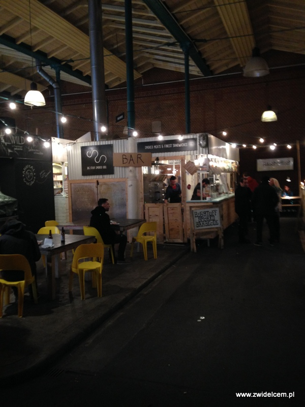 Berlin – Markthalle Neun – Street Food Thursdsay – barbecue