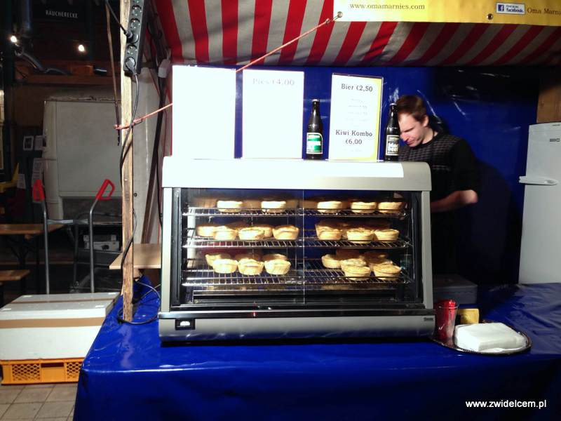 Berlin – Markthalle Neun – Street Food Thursday - Oma marnies pies