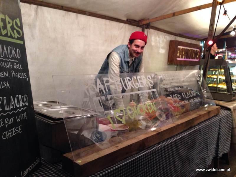 Berlin – Markthalle Neun – Street Food Thursday - ASAP burger