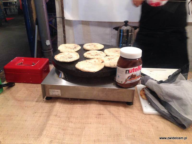 Berlin – Markthalle Neun – Street Food Thursday – arepas