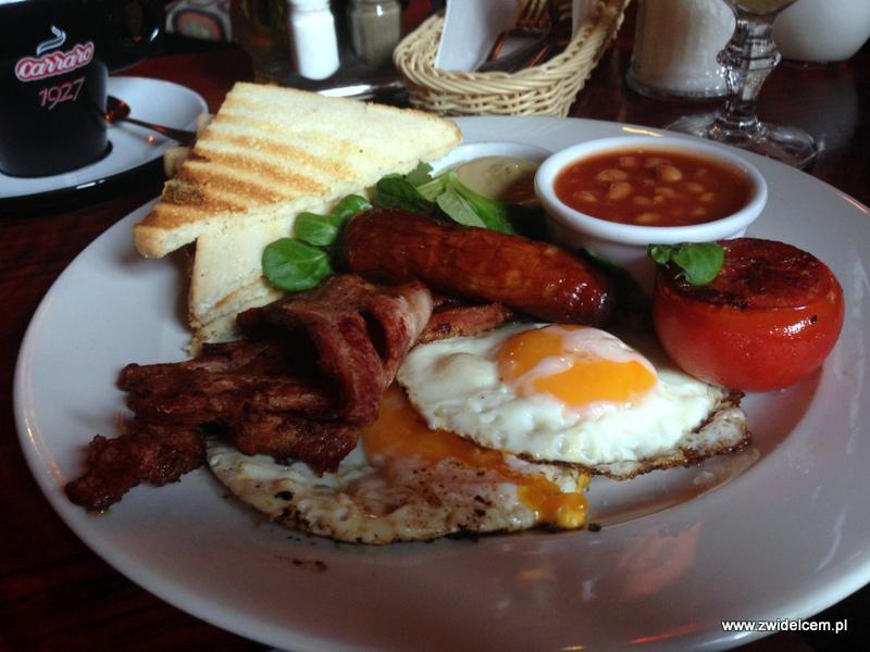 Kraków - Moment - śniadanie angielskie