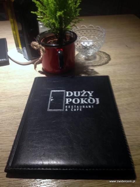 Kraków – Duży Pokój - menu