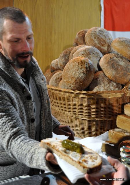 Najedzeni Fest - Karnawał - Kraków - chleb ze smalcem