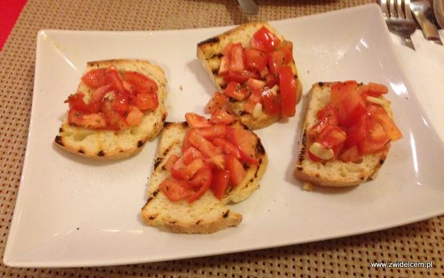 Kraków - Bella Napoli - Bruschetta z pomidorem