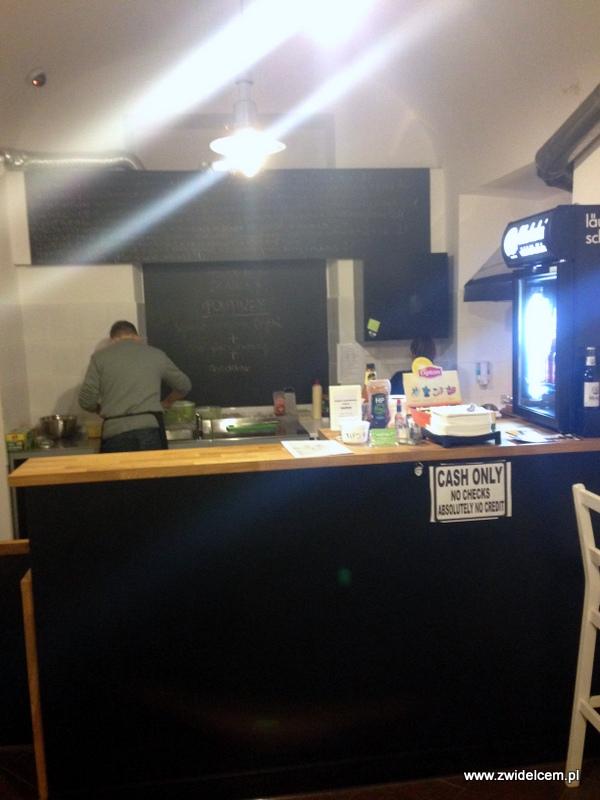 Kraków - Antler Poutine&Burger - bar