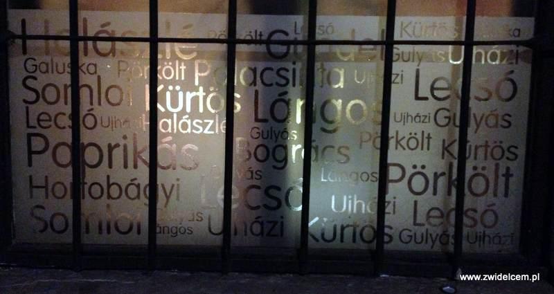 Kraków - Delibar - Okno