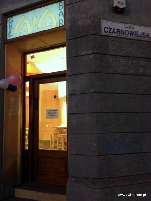 Kraków - Laila - wejście