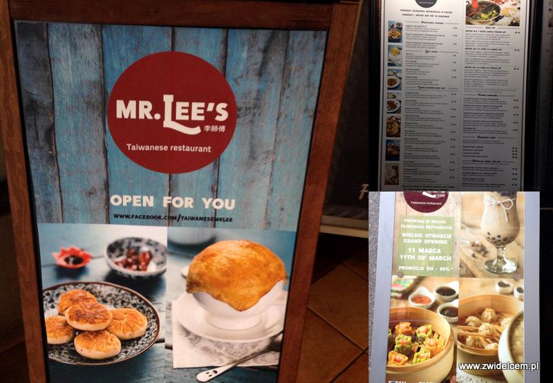 Kraków - Mr.Lee's - restauracja tajwańska - Karmelicka