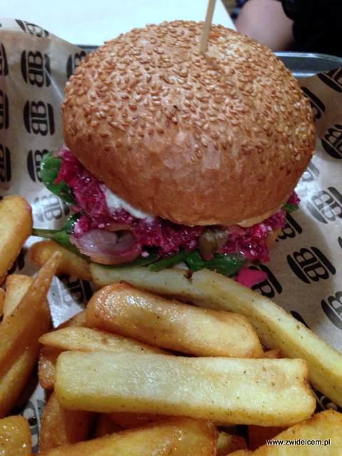 Kraków - Bobby Burger - Burger z buraczkami i fetą
