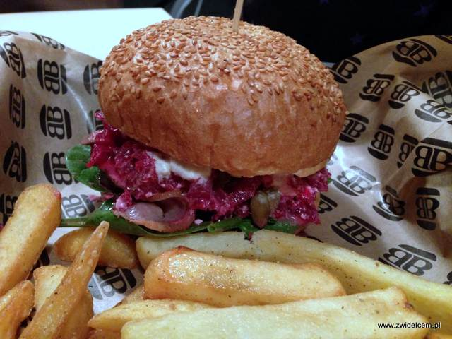 Kraków - Bobby Burger - Burger miesiąca