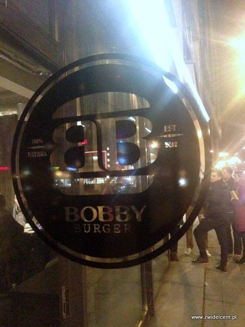 Kraków - Bobby Burger - wejście