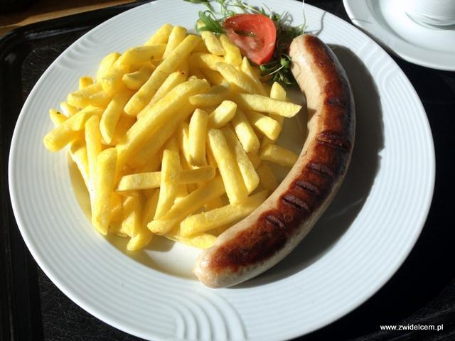 Lucerna - Rigi - Kiełbasa z frytkami