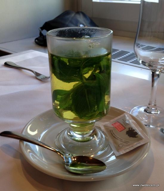 Zurich - Le Cedr - herbata miętowa