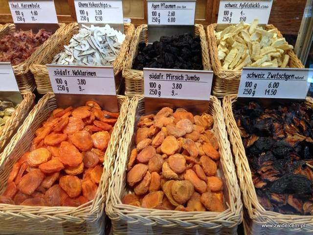 Zurich - sklep kolonialny - kandyzowane owoce