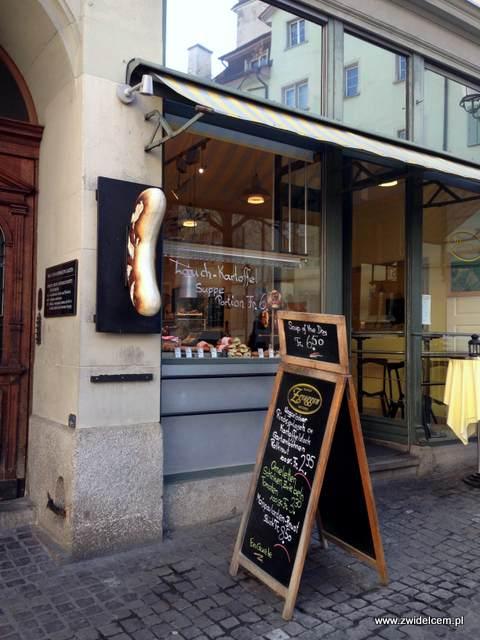 Zurich - restauracja