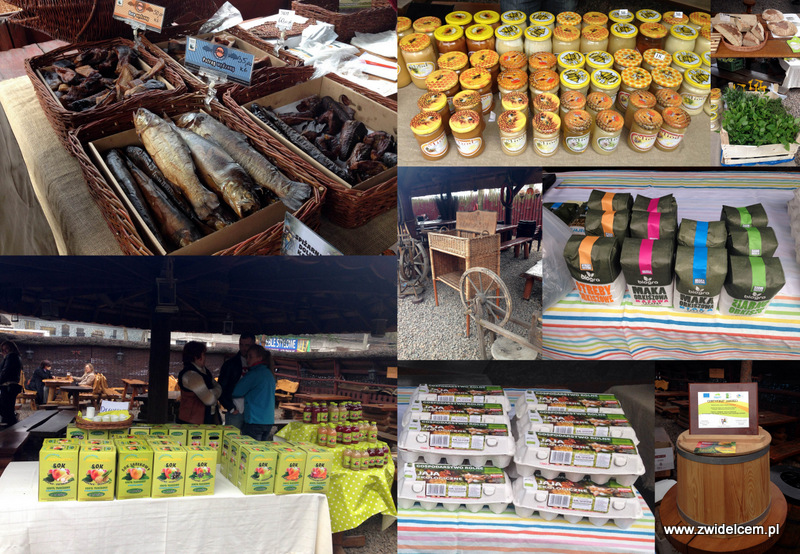 Kraków - Eko Bazar - produkty