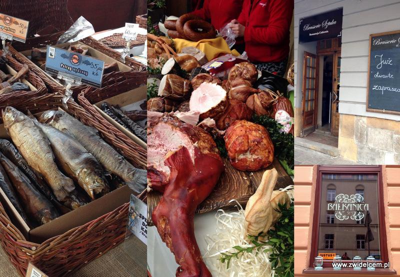 Kraków - Eko Bazar - Kiermasz Wielkanocny - Bałkanica - Brasserie Sztuka