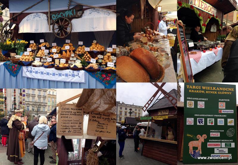 Kraków - Targi Wielkanocne na Rynku Głównym