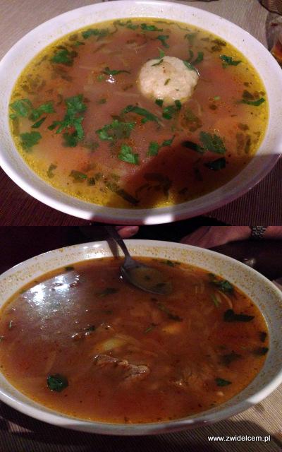 Kraków - Smaki Gruzji - zupy charczo i gupta