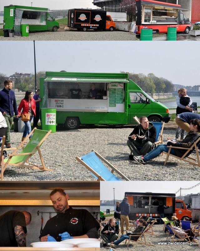 Kraków - Najedzeni Fest Slow Food - food trucki