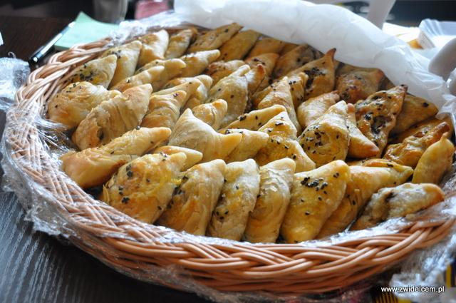 Kraków - Najedzeni Fest Slow Food - Samarkand - pierożki z baraniną