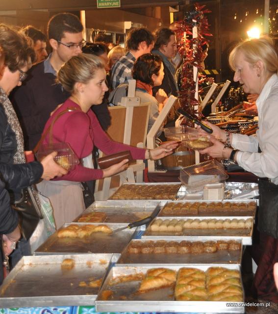 Kraków - Najedzeni Fest Slow Food - Baklava