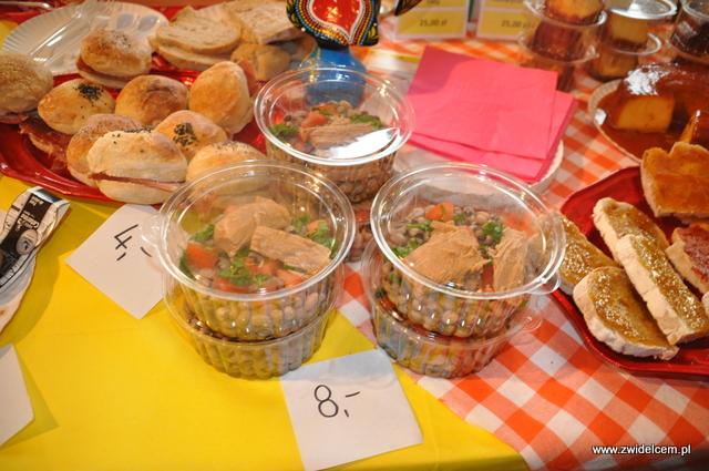 Kraków - Najedzeni Fest Slow Food - art food - ryba