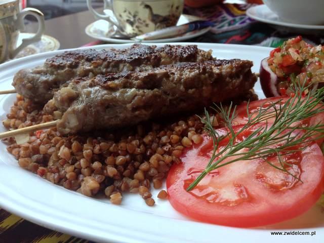 Kraków - Restauracja uzbecka Samarkand - szaszłyki baranie