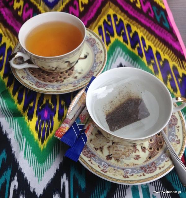 Kraków - Restauracja uzbecka Samarkand - herbata