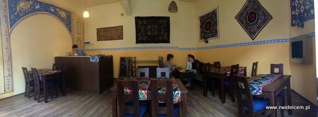 Kraków - Restauracja uzbecka Samarkand - wnętrze