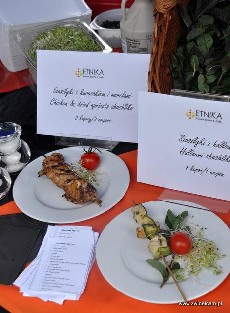 Kraków - Foodstock BBQ - Etnika - szaszłyki