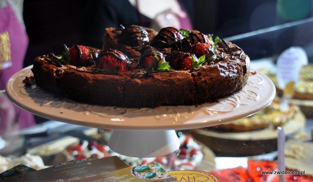 Kraków - Foodstock BBQ - Bonjour Cava - czekoladowe z truskawkami