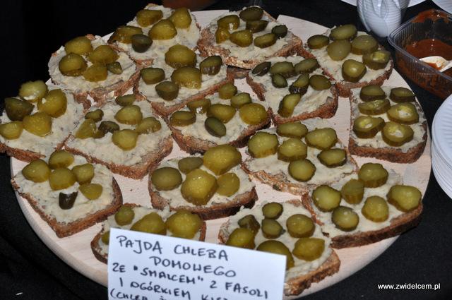 Kraków - Foodstock BBQ - Otwarte Klatki - wegański smalec