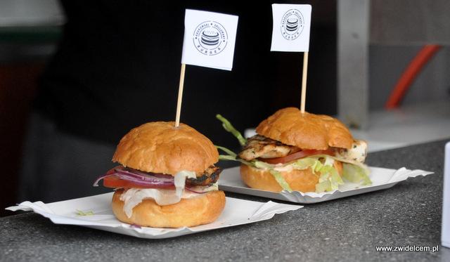 Kraków - Foodstock BBQ - Fabryka - Krakowski Grillowany Burger - burgery mini