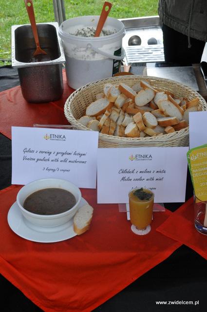 Kraków - Foodstock BBQ - Etnika - gulasz i chłodnik