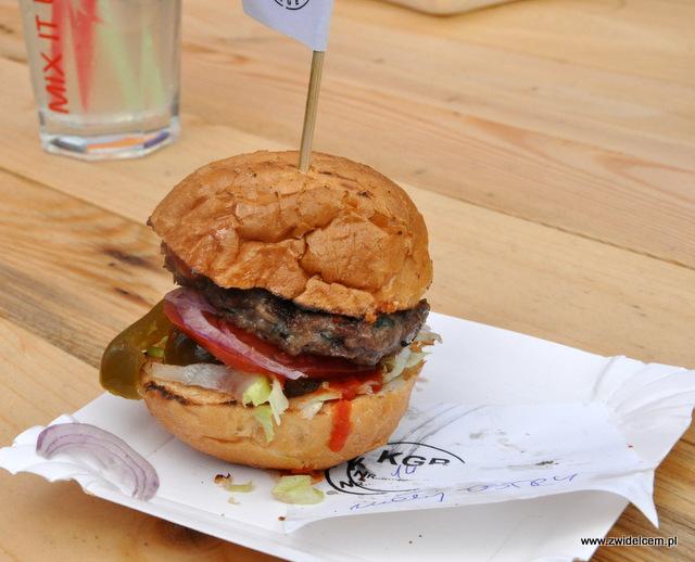 Kraków - Foodstock BBQ - Fabryka - Krakowski Grillowany Burger - Ostry