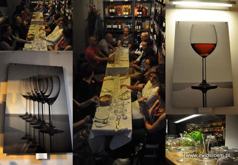 Kraków - Wine Garage - Degustacja win Clementa Klura - wnętrze i goście