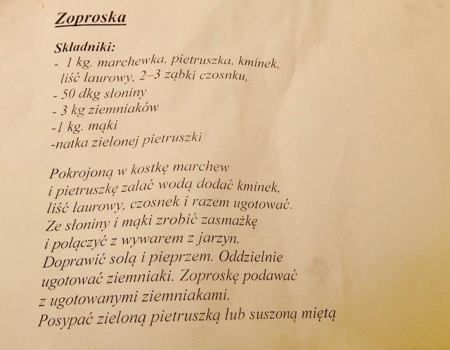 Wieliczka - Małopolski Festiwal Smaku - Zoproska