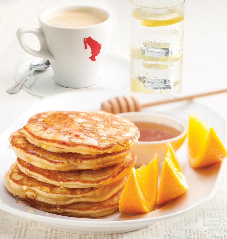 Sphinx – śniadanie prasowe – zdjęcie Sphinx - American Pancakes