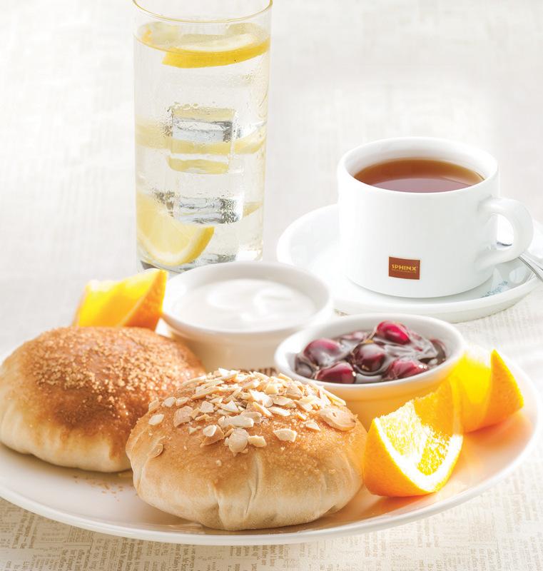 Sphinx – śniadanie prasowe – Sweet Pita - zdjęcie Sphinx
