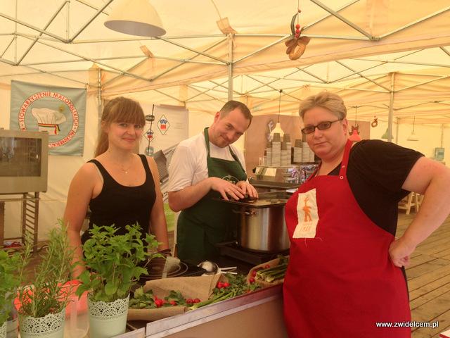 Tarnów - Małopolski Festiwal Smaku - gotujemy żurek