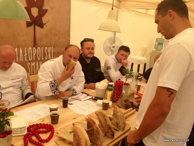 Tarnów - Malopolski Festiwal Smaku - prezentacja produktów lokalnych