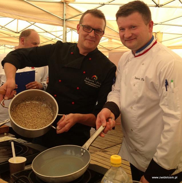 Tarnów - Malopolski Festiwal Smaku - Maciej Koźlakowski i Marcin Parda