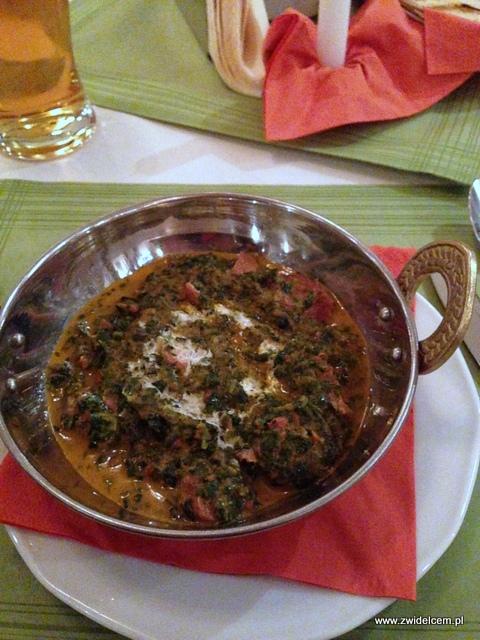 Czorsztyn - Hotel Kinga - restauracja Kryształowa - jagnięcina