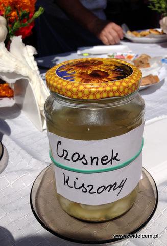 Miechów - Małopolski Festiwal Smaku - Czosnek kiszony