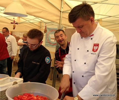 Nowy Targ - Małopolski Festiwal Smaku - Paweł Łukasik, Andrzej Pawlas, Szymon Sepiał
